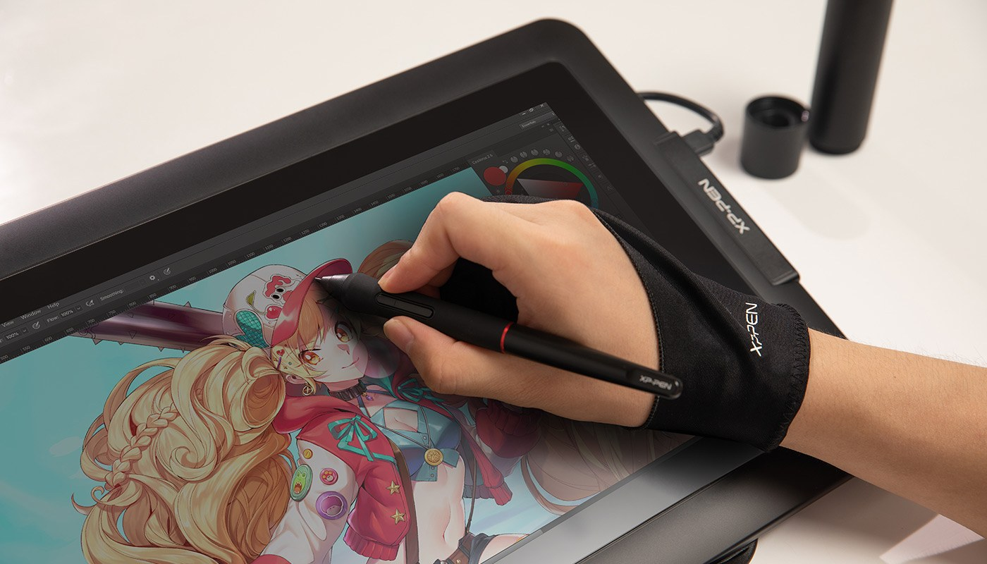 digital sketching,drawing ,animation ,painting and editing photos with XP-Pen Artist 13.3 Pro Screen graphics Tablet