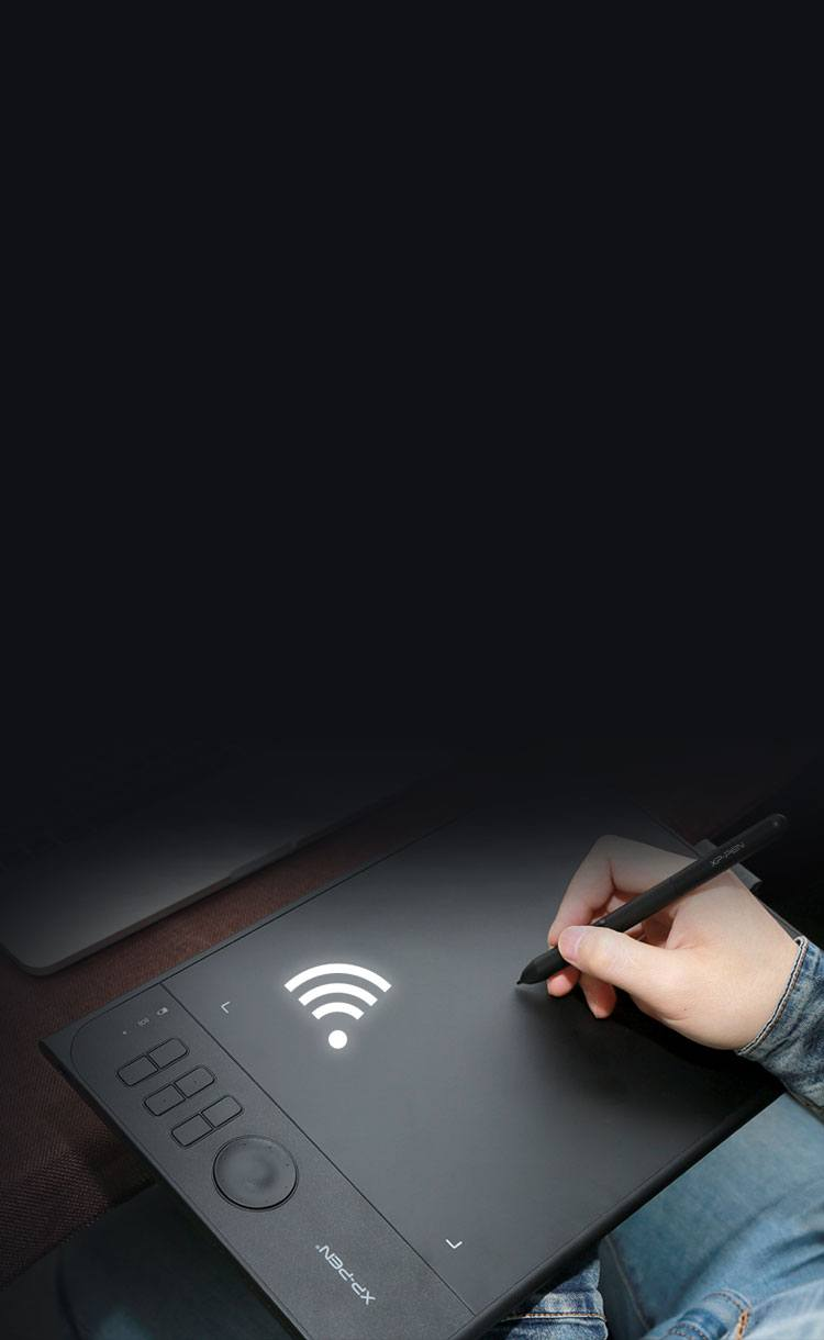 XP-Pen Star 06 drawing tablet Create wirelessly for laptop